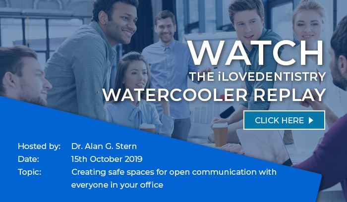 Watch the ilovedentistry watercooler replay