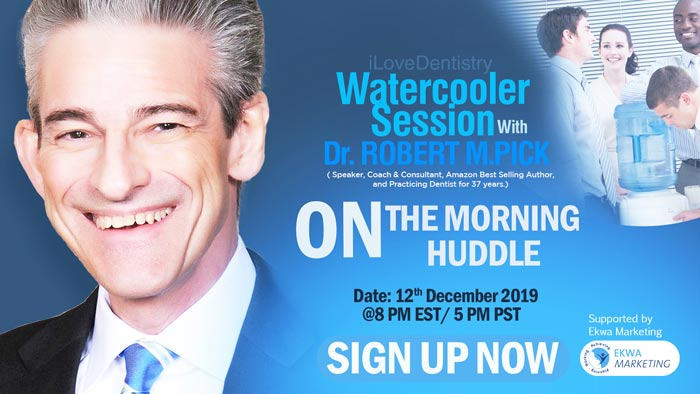 Dr. Robert M. Pick Watercooler Signup
