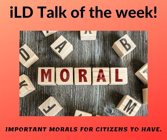 iLD Talk of the Week - November Week 1 and 2